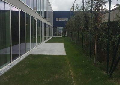Omgevingswerken - aanleg groenzone