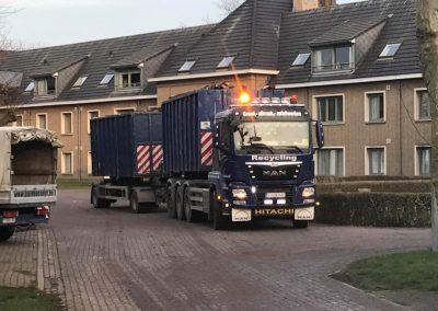 Grondwerken Bossuyt West-Vlaanderen - containers