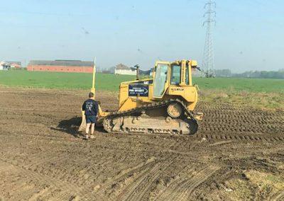 Grondwerken Bossuyt West-Vlaanderen machines